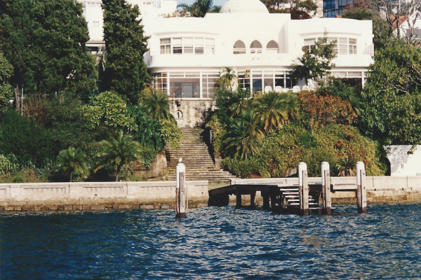 Engineering design, drilling, piling and associated wharf works at the American Embassy in Darling Point