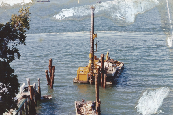 Engineering design, drilling, piling and associated works at Darling Point