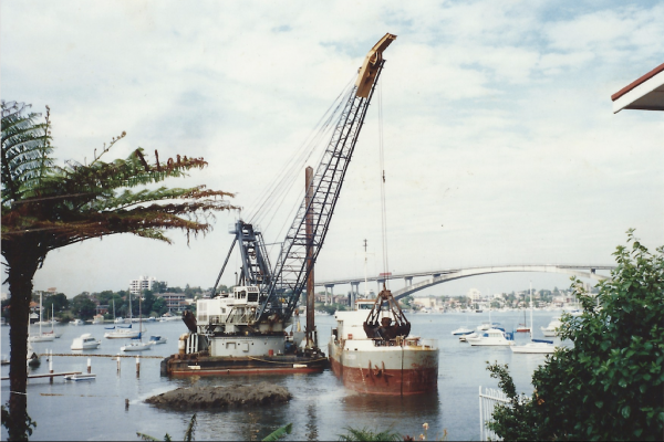 Engineering design, drilling, piling, underwater excavation, associated works and certification in Hunters Hill
