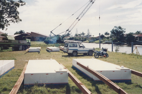 Piling and associated works on the Gold Coast