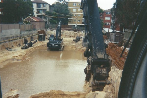 After a fortnight of rain in Randwick