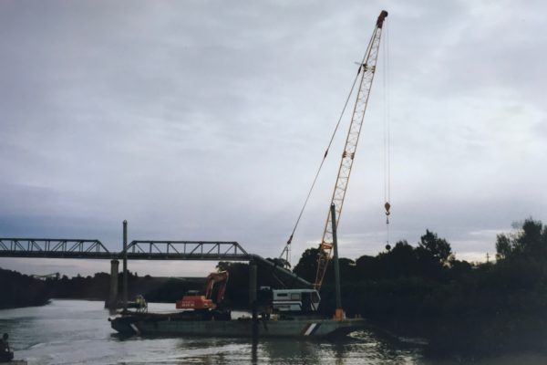 Ferry terminal construction Rydalmere